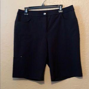 Black Chico's Shorts